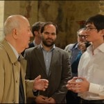 With Ivan Moravec and Jan Bartos