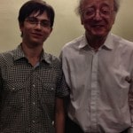 With Alfred Brendel